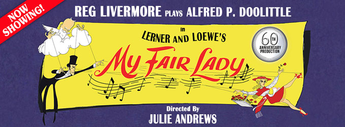 Reg Livermore in My Fair Lady