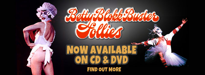 Betty Blokk Buster on DVD and CD